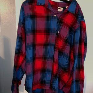 Brand new boyfriend fit flannel by levi
